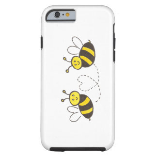 Honey Bees with Heart iPhone 6 Case