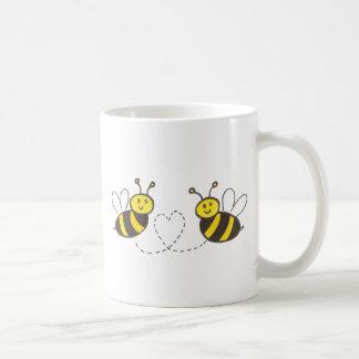Honey Bees with Heart Coffee Mug