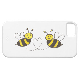 Honey Bees with Heart iPhone SE/5/5s Case