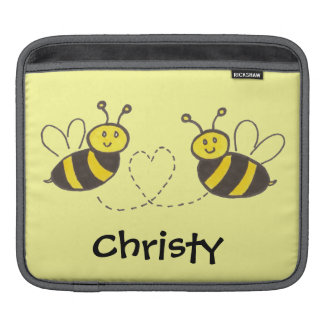 Honey Bees with Heart Sleeve For iPads