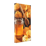 Honey & Biscuits Canvas Print