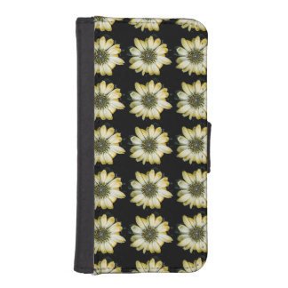 Honey Blossom Yellow Coneflower iPhone 5 Wallet Case