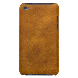 Honey Buckskin Leather Fine Grain Amber Mustard Barely There iPod Case