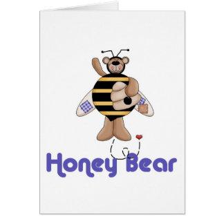 Honey (Bumble) Bear Card
