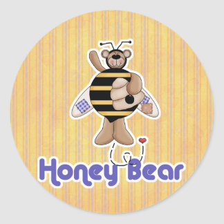 Honey Bumble Bear Stickers