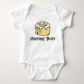 Honey Bun Cinnamon Roll Cute Cartoon Design Baby Bodysuit