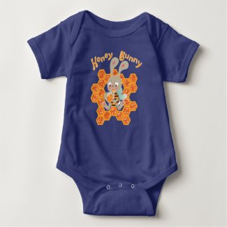 Honey Bunny Baby Bodysuit
