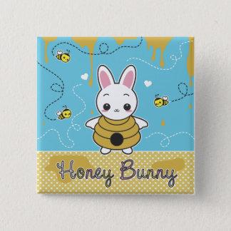 Honey Bunny Button