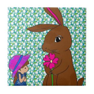 Honey Bunny Ceramic Tile
