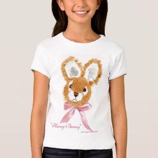 """""""Honey Bunny"""" cuddly toy girls T-Shirt"""