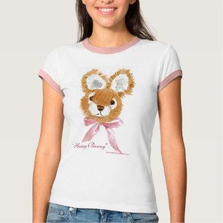 """Honey Bunny"" cuddly toy ladies tee shirt"