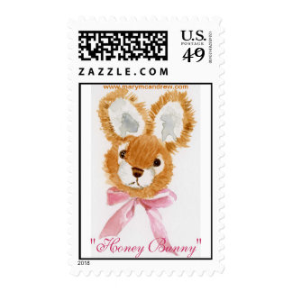 """Honey Bunny"" cuddly toy Stamps"