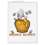 Honey Bunny Easter Card
