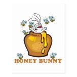 Honey Bunny Easter Postcard