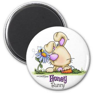 Honey Bunny Easter Treat Fridge Magnets