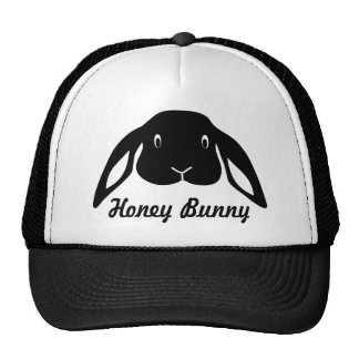 honey bunny hare rabbit gorro