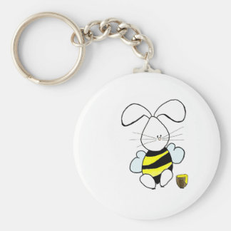 Honey Bunny Keychain