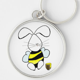 Honey Bunny Keychain