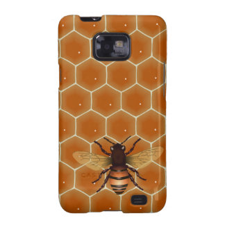 Honey Comb and Bee Samsung Galaxy S2 Cases