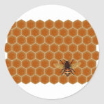 Honey Comb and Bee Stickers