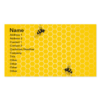 Honey Comb Double-Sided Standard Business Cards (Pack Of 100)