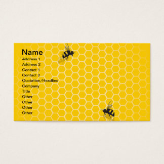 Honey Comb Business Card