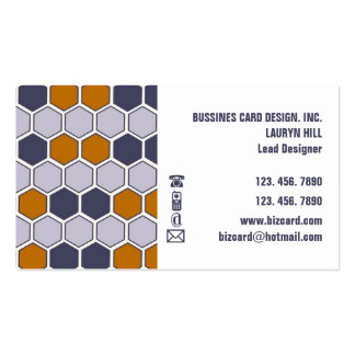 HONEY COMB Bussiness Card Double-Sided Standard Business Cards (Pack Of 100)