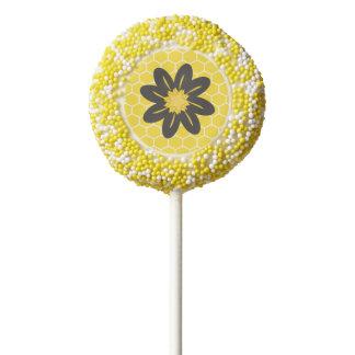 Honey Comb Cookie Pop
