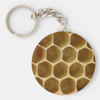 Honey Comb Key Ring Key Chains
