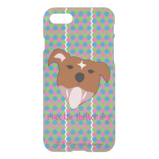Honey Comb Max iPhone 7 Clearly™ Deflector Case
