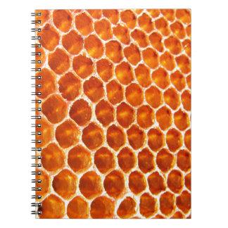 Honey Comb Spiral Note Books