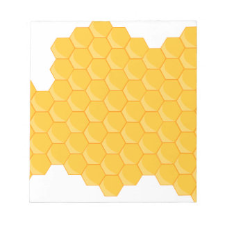 Honey comb notepad