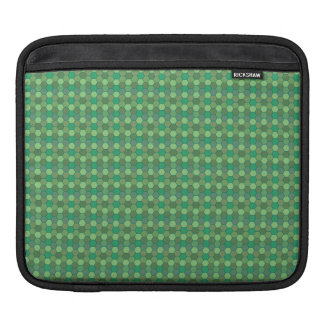 honey comb pattern green sleeves for iPads