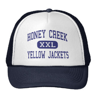 Honey Creek Yellow Jackets Terre Haute Trucker Hat