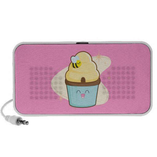 Honey Cupcake Mini Speaker