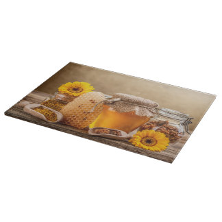 Honey Cutting Board