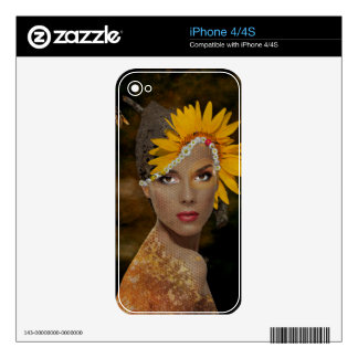 Honey Decals For iPhone 4S