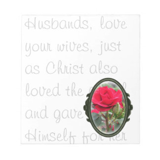 Honey Do Husbands Love Your Wives Notepad