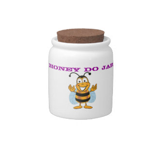 Honey-Do Jar Candy Dishes