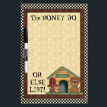 "Honey Do List Dry Erase Board<br><div class=""desc"">designs by Cheryl Seslar at www.digiwebstudio.com</div>"