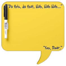 Honey Do List (dry Erase Board) Dry-erase Board at Zazzle