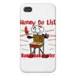 Honey Do List iPhone 4 Cover