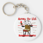 Honey Do List Keychain