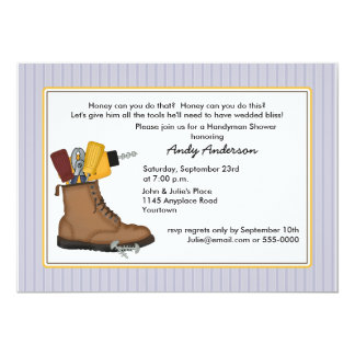 Honey Do Shower Invitation