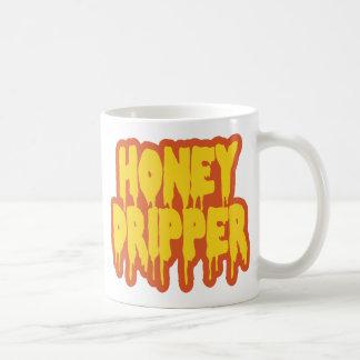 Honey Dripper Classic White Coffee Mug
