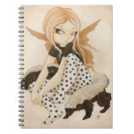 Honey- fairy with honey badgers notebook