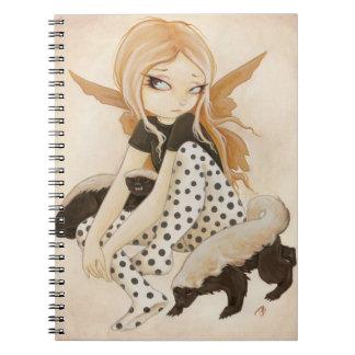 Honey- fairy with honey badgers notebooks