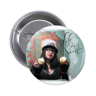 "Honey Halliwell ""Life is Sweet"" Items Pinback Button"