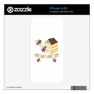 Honey Home iPhone 4 Skins