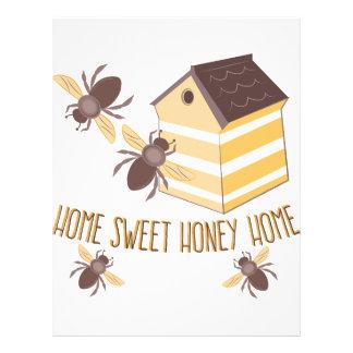 Honey Home Letterhead